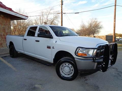 2011 RAM Ram Pickup 2500 for sale at DFW AUTO FINANCING LLC in Dallas TX