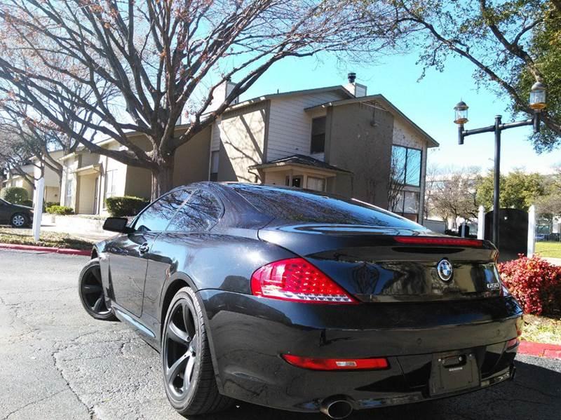 2008 BMW 6 Series 650i 2dr Coupe - Dallas TX