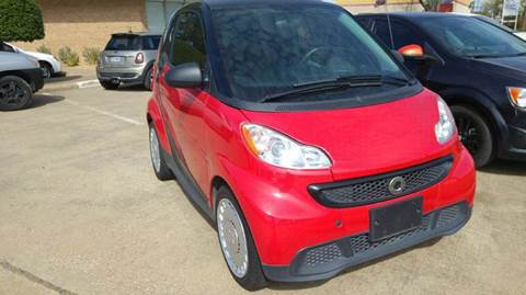 2013 Smart fortwo for sale at DFW AUTO FINANCING LLC in Dallas TX