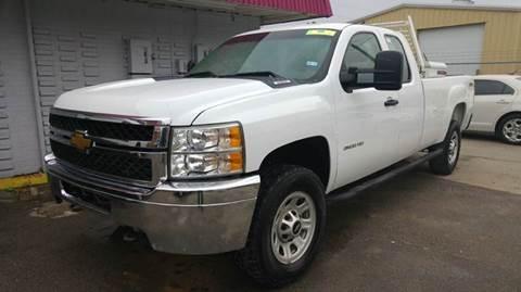 2013 Chevrolet Silverado 3500HD for sale at DFW AUTO FINANCING LLC in Dallas TX