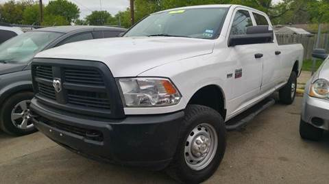 2012 RAM Ram Pickup 2500 for sale at DFW AUTO FINANCING LLC in Dallas TX