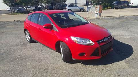 2014 Ford Focus for sale at DFW AUTO FINANCING LLC in Dallas TX