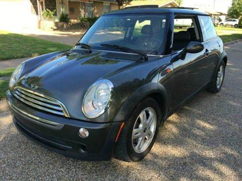 2006 MINI Cooper for sale at DFW AUTO FINANCING LLC in Dallas TX