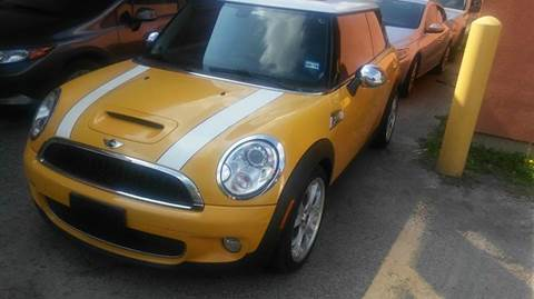 2008 MINI Cooper for sale at DFW AUTO FINANCING LLC in Dallas TX