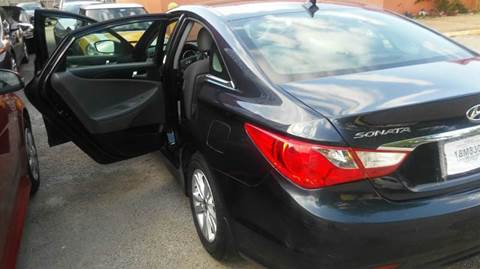 2014 Hyundai Sonata for sale at DFW AUTO FINANCING LLC in Dallas TX