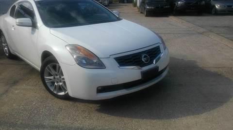 2008 Nissan Altima for sale at DFW AUTO FINANCING LLC in Dallas TX