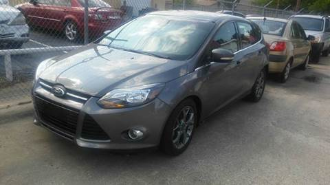 2012 Ford Focus for sale at DFW AUTO FINANCING LLC in Dallas TX