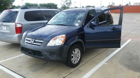 2006 Honda CR-V for sale at DFW AUTO FINANCING LLC in Dallas TX