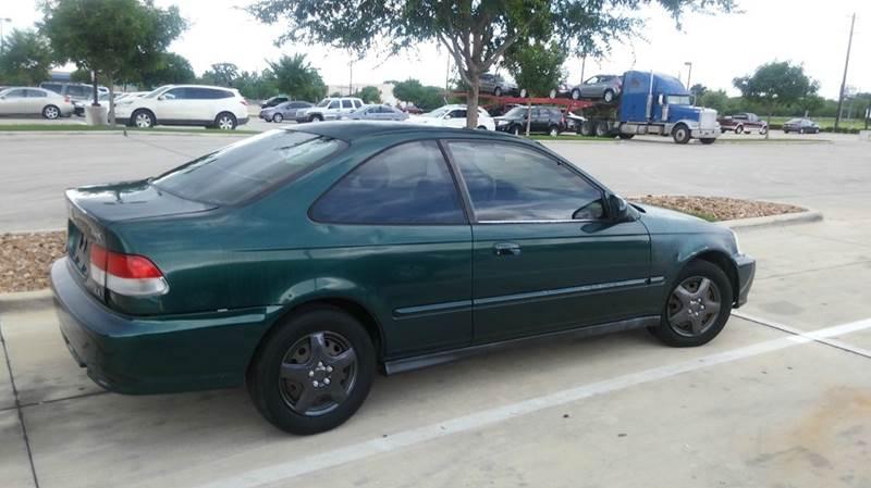 2000 Honda Civic EX 2dr Coupe   Dallas TX