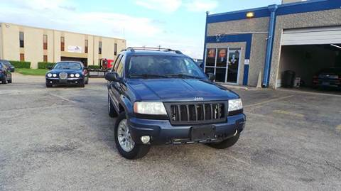 2004 Jeep Grand Cherokee for sale at DFW AUTO FINANCING LLC in Dallas TX