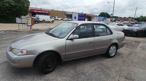 1998 Toyota Corolla for sale at DFW AUTO FINANCING LLC in Dallas TX