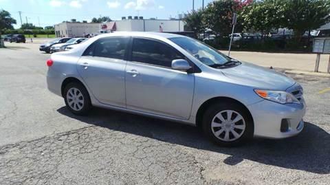 2011 Toyota Corolla for sale at DFW AUTO FINANCING LLC in Dallas TX