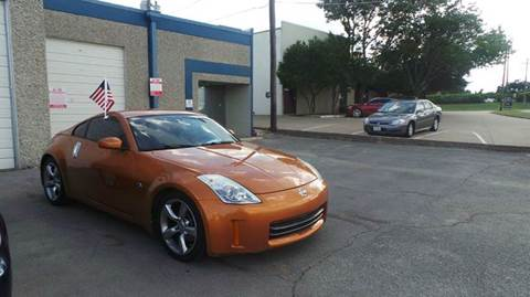 2006 Nissan 350Z for sale at DFW AUTO FINANCING LLC in Dallas TX