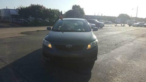 2010 Toyota Corolla for sale at DFW AUTO FINANCING LLC in Dallas TX