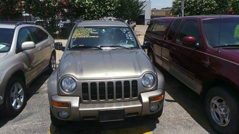 2003 Jeep Liberty for sale at DFW AUTO FINANCING LLC in Dallas TX