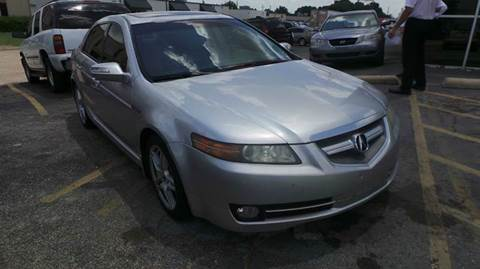 2008 Acura TL for sale at DFW AUTO FINANCING LLC in Dallas TX