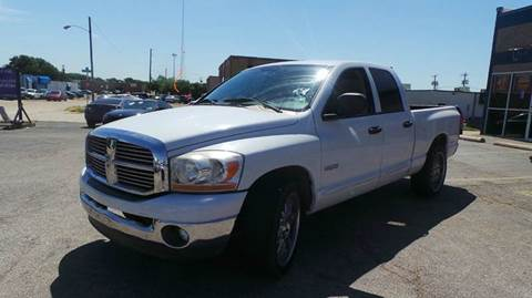 2006 Dodge Ram Pickup 1500 for sale at DFW AUTO FINANCING LLC in Dallas TX