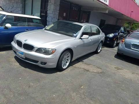 2006 BMW 7 Series for sale at DFW AUTO FINANCING LLC in Dallas TX