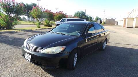 2005 Toyota Camry for sale at DFW AUTO FINANCING LLC in Dallas TX