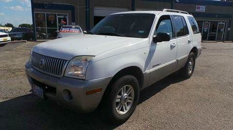 2002 Mercury Mountaineer for sale at DFW AUTO FINANCING LLC in Dallas TX