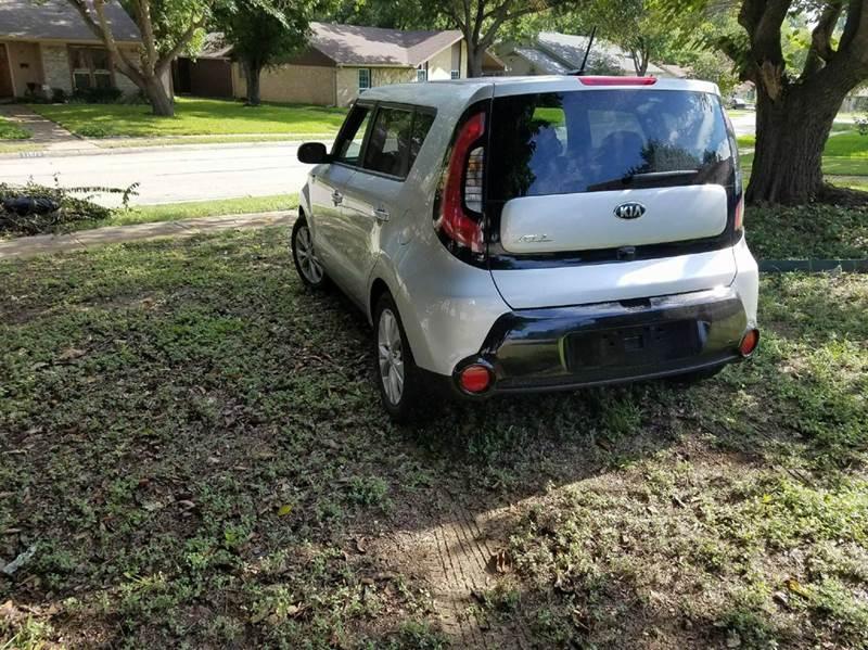 2016 Kia Soul + 4dr Wagon - Dallas TX