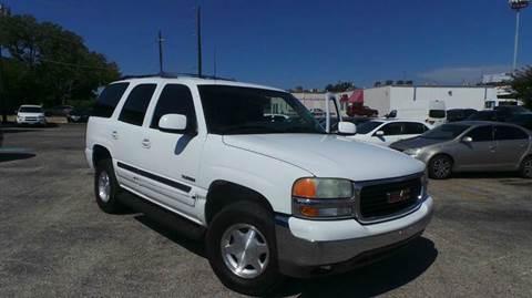 2004 GMC Yukon for sale at DFW AUTO FINANCING LLC in Dallas TX