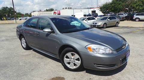 2009 Chevrolet Impala for sale at DFW AUTO FINANCING LLC in Dallas TX