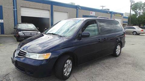 2004 Honda Odyssey for sale at DFW AUTO FINANCING LLC in Dallas TX