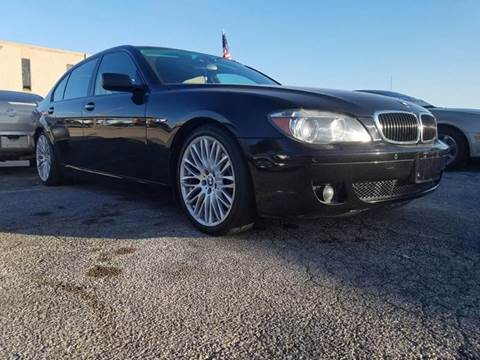 2007 BMW 7 Series for sale at DFW AUTO FINANCING LLC in Dallas TX
