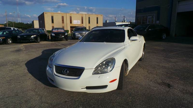 2006 Lexus SC 430 Base 2dr Convertible - Dallas TX
