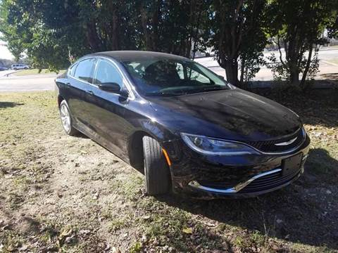 2016 Chrysler 200 for sale at DFW AUTO FINANCING LLC in Dallas TX