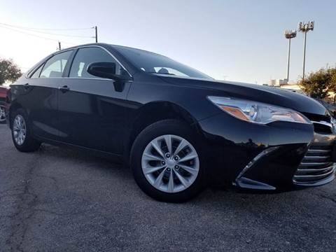 2016 Toyota Camry for sale at DFW AUTO FINANCING LLC in Dallas TX