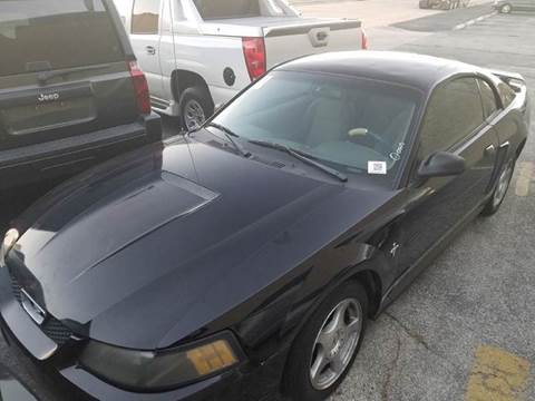 2002 Ford Mustang for sale at DFW AUTO FINANCING LLC in Dallas TX
