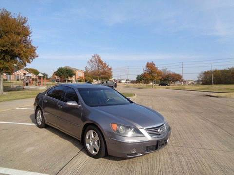 2008 Acura RL for sale at DFW AUTO FINANCING LLC in Dallas TX