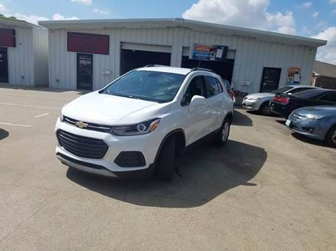 2017 Chevrolet Trax for sale at DFW AUTO FINANCING LLC in Dallas TX