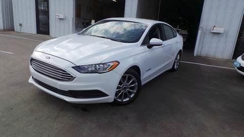 2017 Ford Fusion Hybrid for sale at DFW AUTO FINANCING LLC in Dallas TX