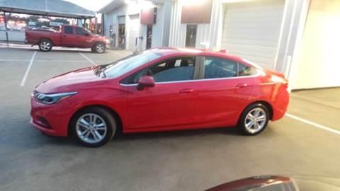 2016 Chevrolet Cruze for sale at DFW AUTO FINANCING LLC in Dallas TX