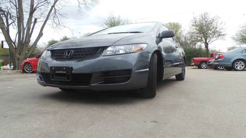 2009 Honda Civic for sale at DFW AUTO FINANCING LLC in Dallas TX