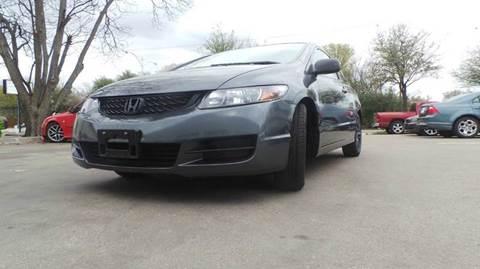 2009 Honda Civic for sale at DFW AUTO FINANCING LLC in Dallas TX