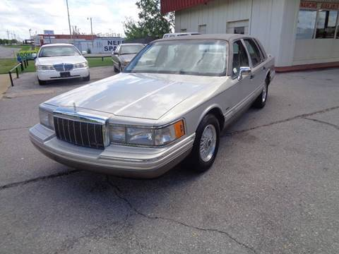 1991 Lincoln Town Car For Sale Carsforsale Com