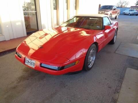1993 Chevrolet Corvette for sale at Clinton Herring Auto Sales & RV Center LLC in Lawton OK