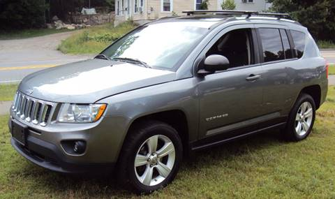 2012 Jeep Compass for sale at Rte 3 Auto Sales of Concord in Concord NH