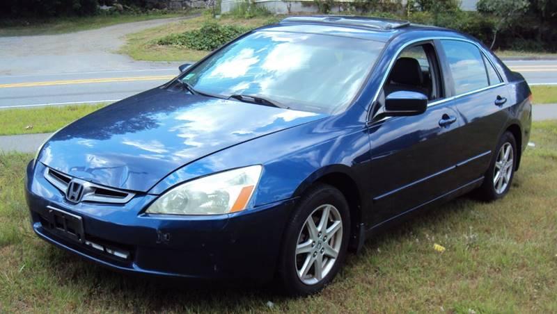 2004 Honda Accord EX V 6 4dr Sedan   Concord NH