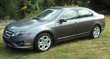 2010 Ford Fusion for sale at Rte 3 Auto Sales of Concord in Concord NH
