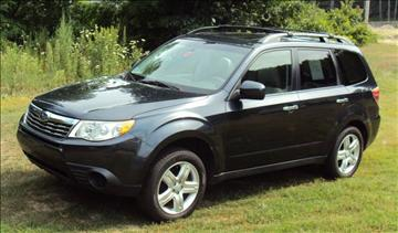 2009 Subaru Forester for sale at Rte 3 Auto Sales of Concord in Concord NH