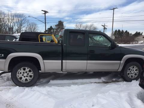 2005 GMC Sierra 1500 for sale at GASPORT AUTO SALES AND SERVICE,INC in Gasport NY