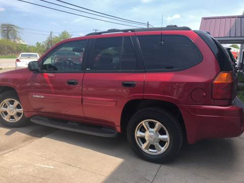 2002 GMC Envoy for sale at GASPORT AUTO SALES AND SERVICE,INC in Gasport NY