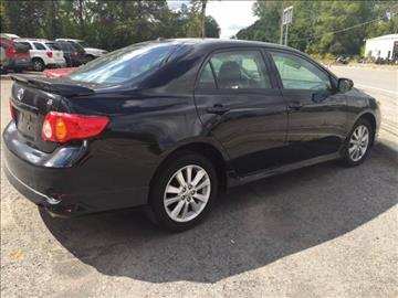 2010 Toyota Corolla for sale at GASPORT AUTO SALES AND SERVICE,INC in Gasport NY