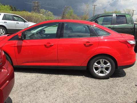 2014 Ford Focus for sale at GASPORT AUTO SALES AND SERVICE,INC in Gasport NY