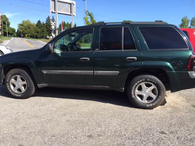 2004 Chevrolet TrailBlazer for sale at GASPORT AUTO SALES AND SERVICE,INC in Gasport NY